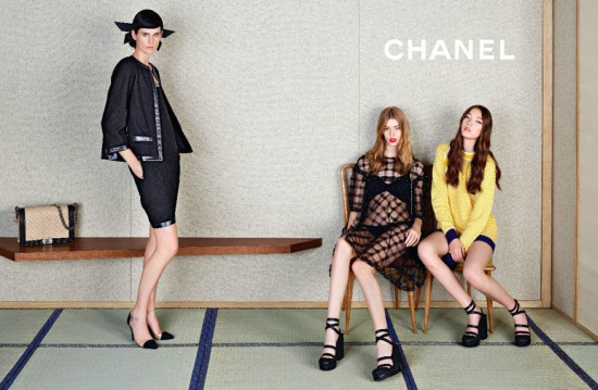 CHANEL SS 2013 CAMPAIGN 1