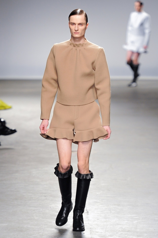 JW ANDERSON FW COLLECTION 2013