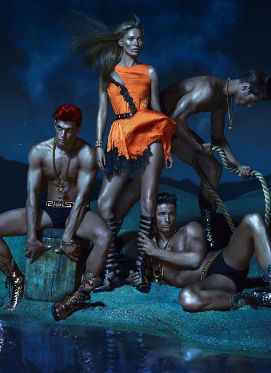 VERSACE SS 2013 CAMPAIGN 1