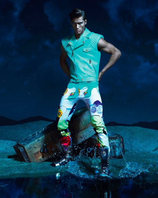 VERSACE SS 2013 CAMPAIGN 11