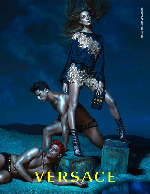 VERSACE SS 2013 CAMPAIGN 6