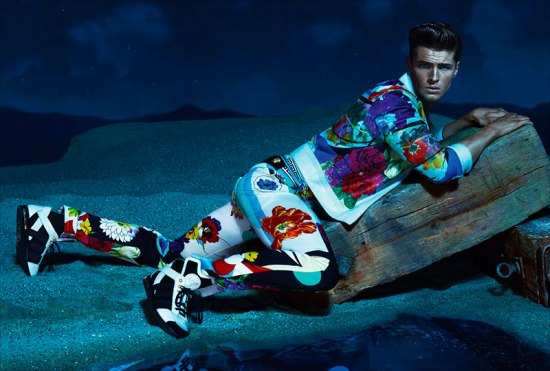 VERSACE SS 2013 CAMPAIGN 9