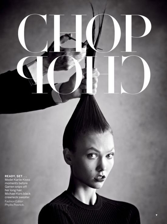 VOGUE US JANUARY 2013 KARLIE KLOSS 1