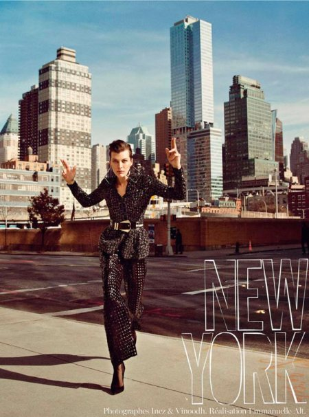 MILLA JOVOVICH VOGUE PARIS FEBRUARY 2013 (5)