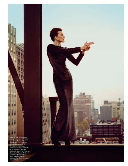 MILLA JOVOVICH VOGUE PARIS FEBRUARY 2013 (9)