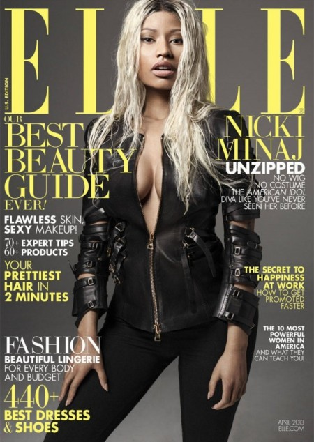 ELLE US APRIL 2013 NICKI MINAJ