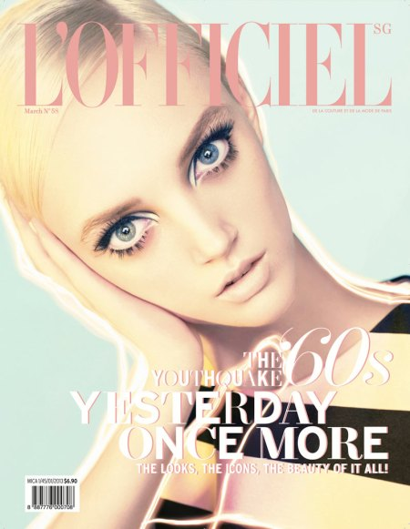 L'OFFICIEL SINGAPORE MARCH 2013 APRIL TIPLADY