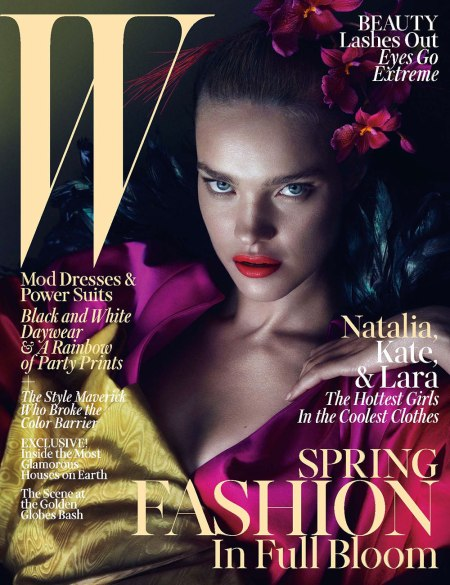 NATALIA VODIANOVA W MAGAZINE MARCH 2013