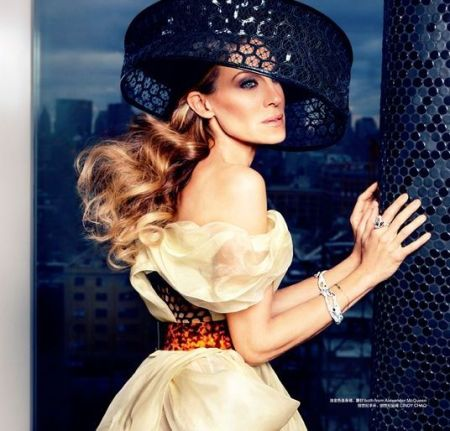 SARAH JESSICA PARKER - HARPER BAAZAR CHINA MARCH 2013 (1)