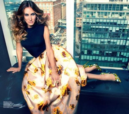 SARAH JESSICA PARKER - HARPER BAAZAR CHINA MARCH 2013 (2)