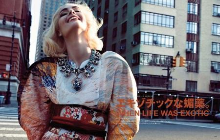 VOGUE JAPAN APRIL 2013 NADJA BENDER