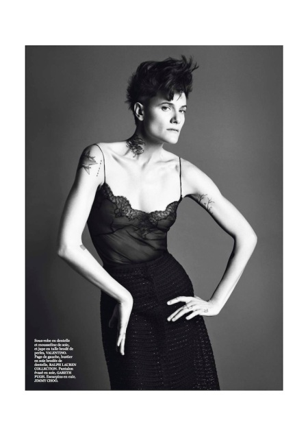 VOGUE PARIS MARCH 2013 SAKIA DE BRAUW GENRE LEGLER (1)