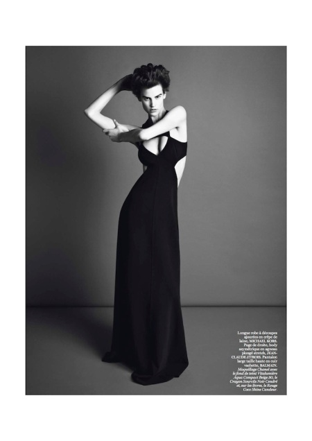 VOGUE PARIS MARCH 2013 SAKIA DE BRAUW GENRE LEGLER (10)