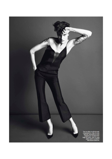 VOGUE PARIS MARCH 2013 SAKIA DE BRAUW GENRE LEGLER (3)