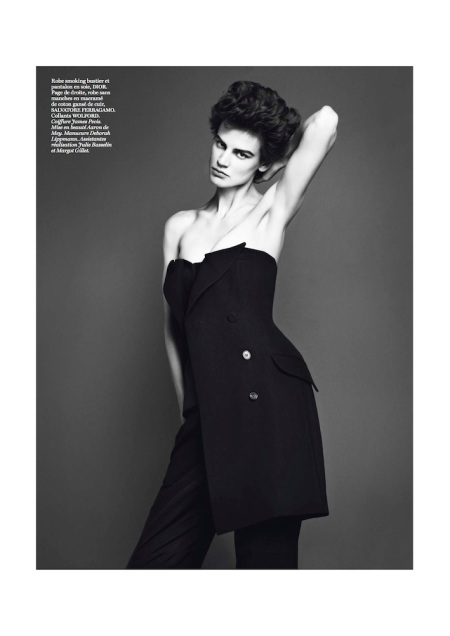 VOGUE PARIS MARCH 2013 SAKIA DE BRAUW GENRE LEGLER (6)