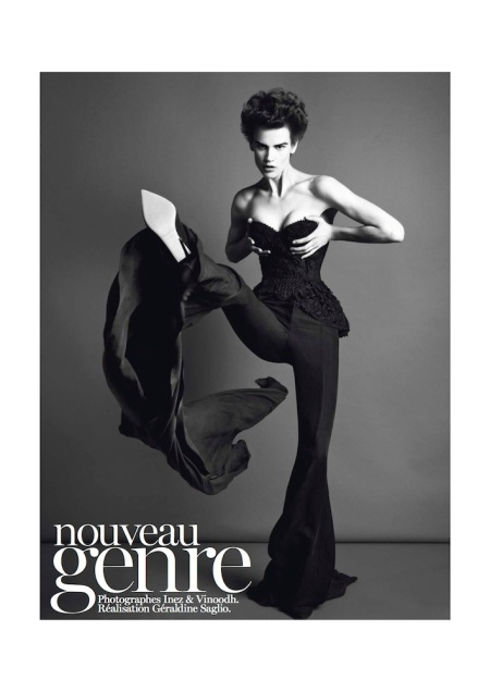 VOGUE PARIS MARCH 2013 SAKIA DE BRAUW GENRE LEGLER