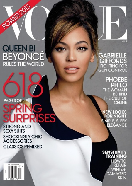 VOGUE US MARCH 2013 BEYONCÉ