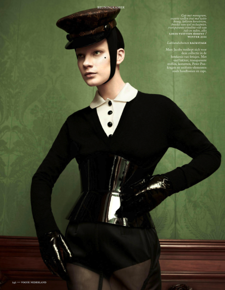 VOGUE NETHERLANDS MAY 2013 QUERELLE JANSEN (10)