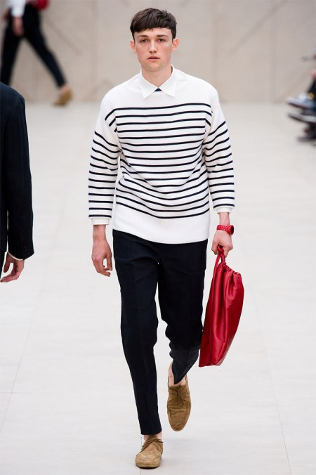 BURBERRY PRORSUM SPRING SUMMER 2014 MENSWEAR COLLECTION (11)