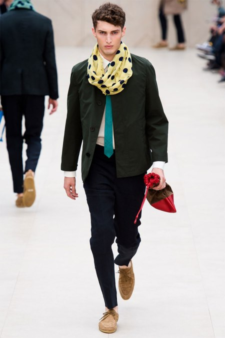 BURBERRY PRORSUM SPRING SUMMER 2014 MENSWEAR COLLECTION (13)