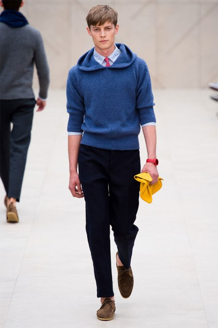 BURBERRY PRORSUM SPRING SUMMER 2014 MENSWEAR COLLECTION (16)