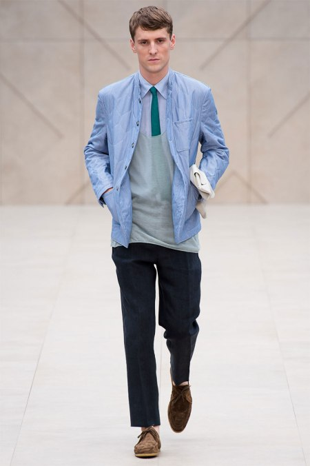 BURBERRY PRORSUM SPRING SUMMER 2014 MENSWEAR COLLECTION (17)