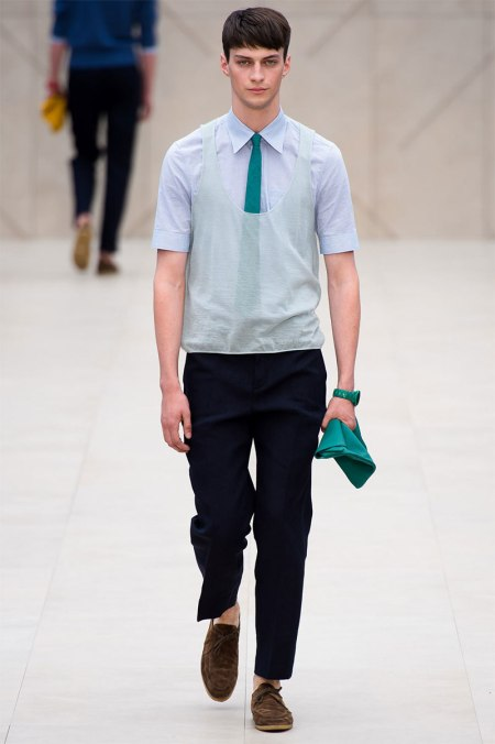 BURBERRY PRORSUM SPRING SUMMER 2014 MENSWEAR COLLECTION (18)