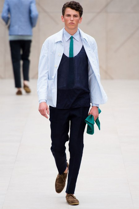 BURBERRY PRORSUM SPRING SUMMER 2014 MENSWEAR COLLECTION (19)