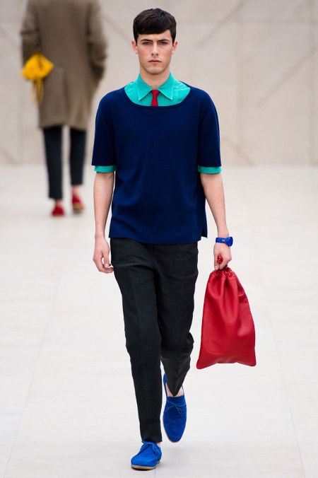 BURBERRY PRORSUM SPRING SUMMER 2014 MENSWEAR COLLECTION (2)