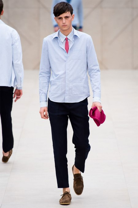 BURBERRY PRORSUM SPRING SUMMER 2014 MENSWEAR COLLECTION (20)