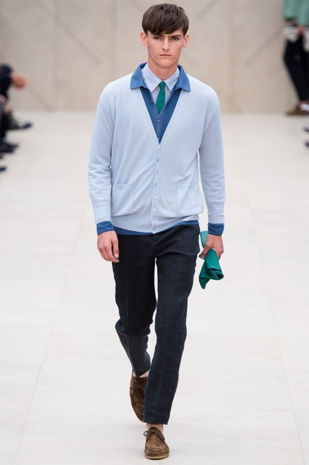 BURBERRY PRORSUM SPRING SUMMER 2014 MENSWEAR COLLECTION (21)