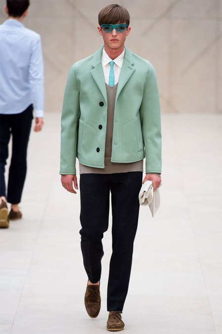 BURBERRY PRORSUM SPRING SUMMER 2014 MENSWEAR COLLECTION (22)