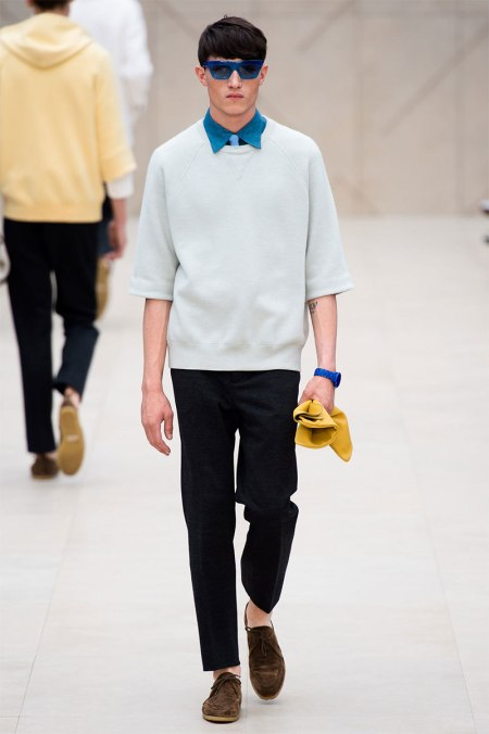 BURBERRY PRORSUM SPRING SUMMER 2014 MENSWEAR COLLECTION (26)