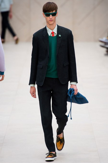 BURBERRY PRORSUM SPRING SUMMER 2014 MENSWEAR COLLECTION (28)