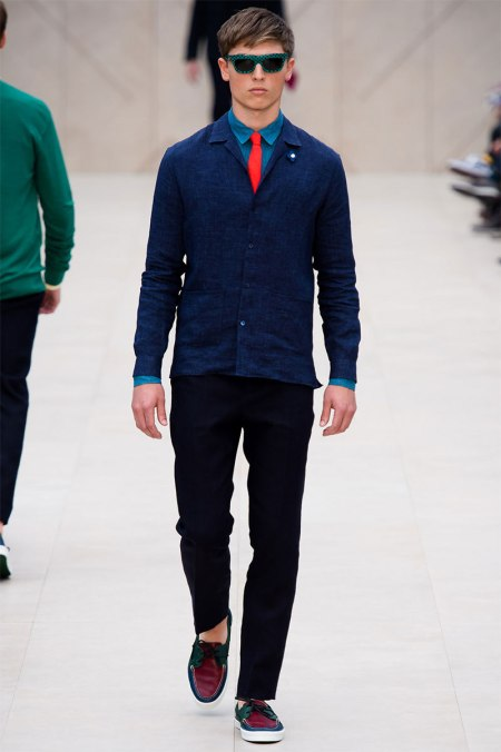 BURBERRY PRORSUM SPRING SUMMER 2014 MENSWEAR COLLECTION (31)