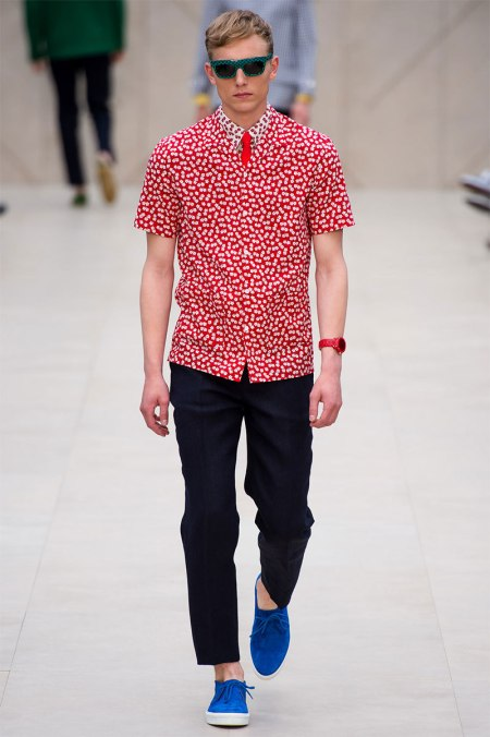 BURBERRY PRORSUM SPRING SUMMER 2014 MENSWEAR COLLECTION (39)
