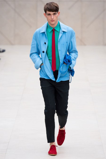 BURBERRY PRORSUM SPRING SUMMER 2014 MENSWEAR COLLECTION (7)