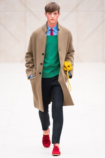 BURBERRY PRORSUM SPRING SUMMER 2014 MENSWEAR COLLECTION