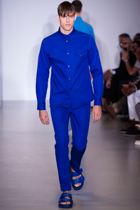 CALVIN KLEIN COLLECTION SPRING SUMMER 2014 MENSWEAR (1)