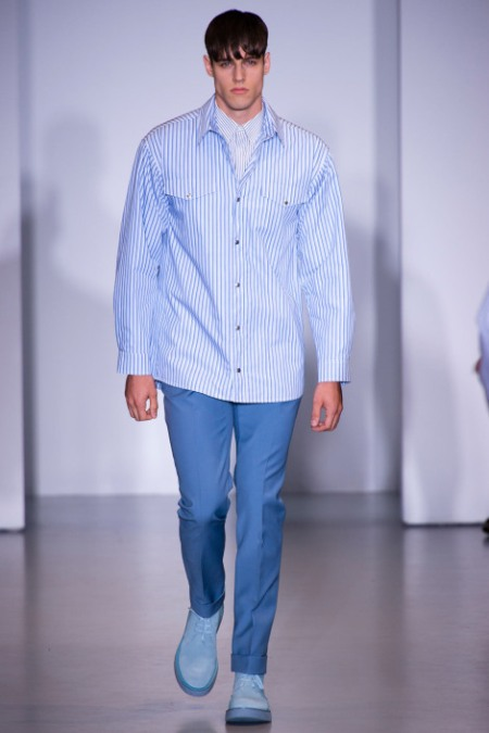 CALVIN KLEIN COLLECTION SPRING SUMMER 2014 MENSWEAR (20)