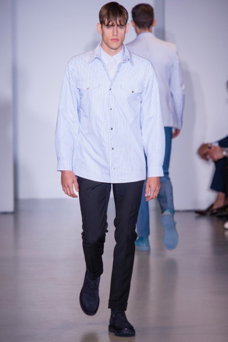 CALVIN KLEIN COLLECTION SPRING SUMMER 2014 MENSWEAR (23)