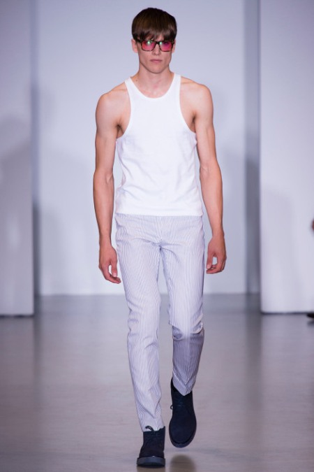 CALVIN KLEIN COLLECTION SPRING SUMMER 2014 MENSWEAR (26)