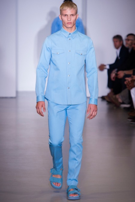 CALVIN KLEIN COLLECTION SPRING SUMMER 2014 MENSWEAR (34)