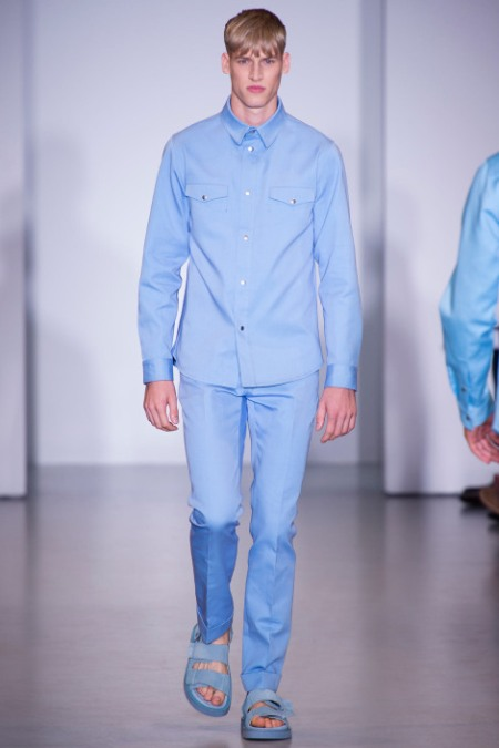 CALVIN KLEIN COLLECTION SPRING SUMMER 2014 MENSWEAR (35)