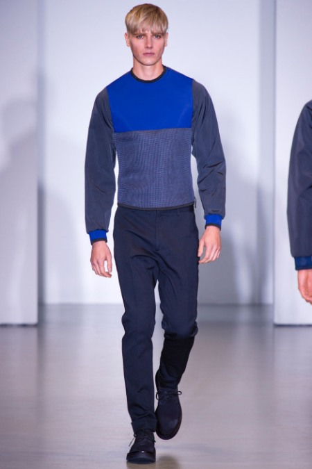 CALVIN KLEIN COLLECTION SPRING SUMMER 2014 MENSWEAR