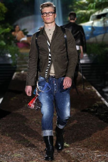 DSQUARED2 SPRING SUMMER 2014 MENSWEAR COLLECTION (14)