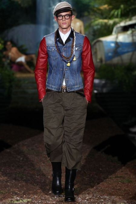 DSQUARED2 SPRING SUMMER 2014 MENSWEAR COLLECTION (2)