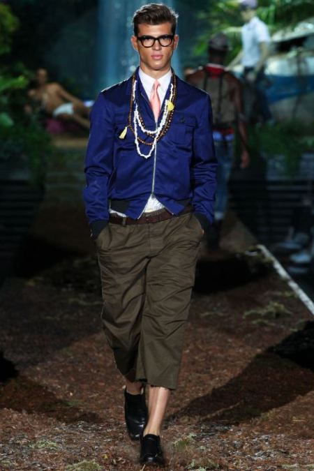 DSQUARED2 SPRING SUMMER 2014 MENSWEAR COLLECTION (4)