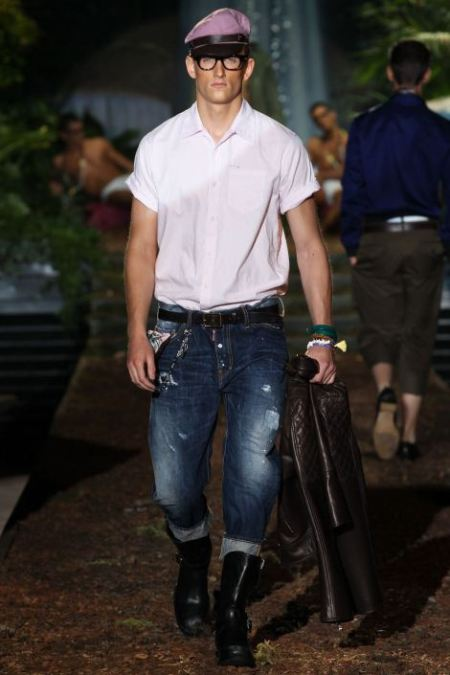 DSQUARED2 SPRING SUMMER 2014 MENSWEAR COLLECTION (5)