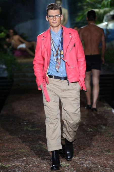 DSQUARED2 SPRING SUMMER 2014 MENSWEAR COLLECTION (9)
